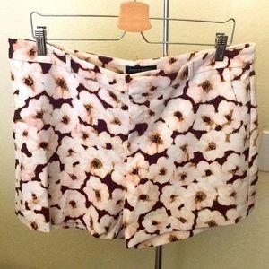 Banana Republic Floral Print Shorts